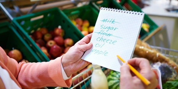 Going To The Grocery? Making A List Will Help You Make Better Choices.